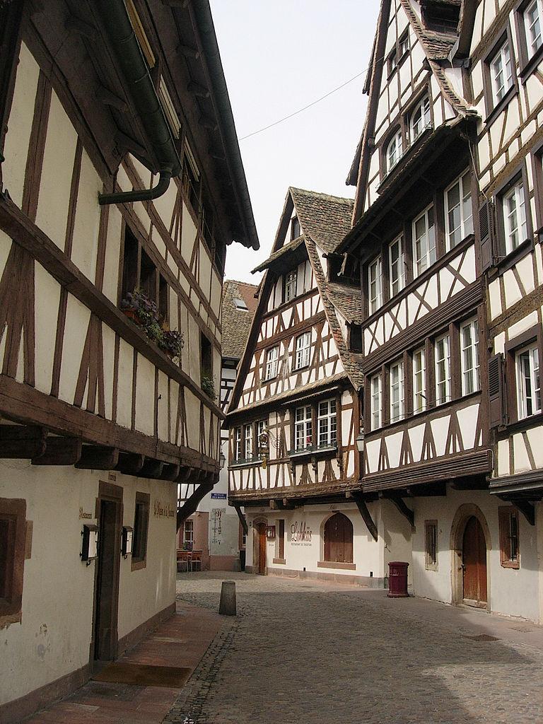 Découvrez l'originalité des maisons strasbourgeoises