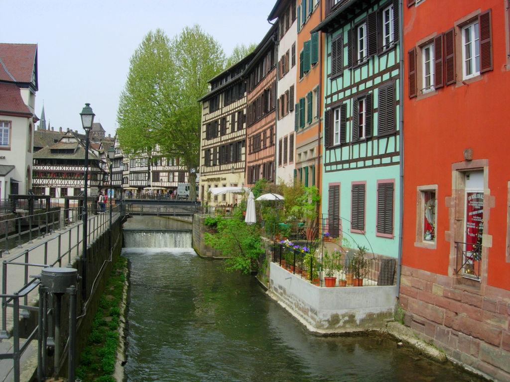 Strasbourg et ses habitations typiques