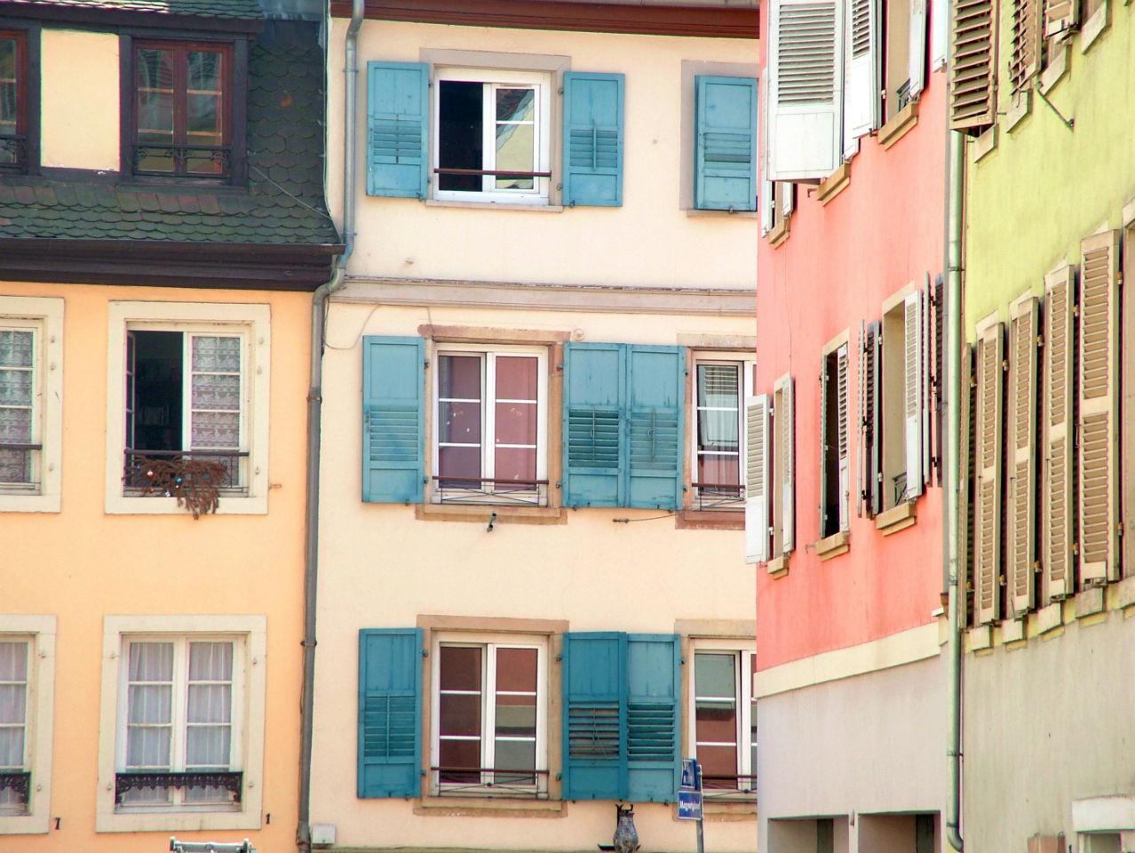 Les couleurs ne manquent pas à Strasbourg!
